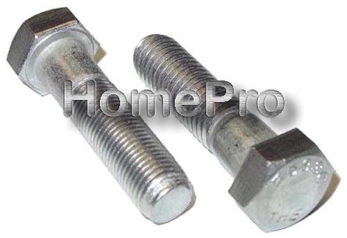 3//8-16 x 3 1//2 STAINLESS HEX HEAD BOLTS
