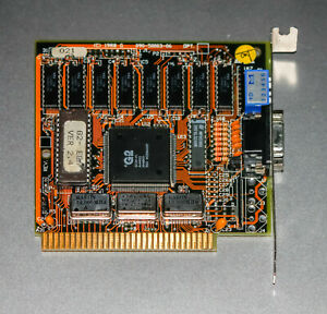 VINTAGE-1988-GEMINI-GTI-G2-EGA-video-card-IBM-PC-XT-ISA-8-bit-090-50003-06