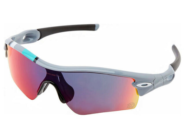 Oakley Radar Path 30 Years Sport Sunglasses 26-266 Polished Fog +Red Iridium 16592bbdda
