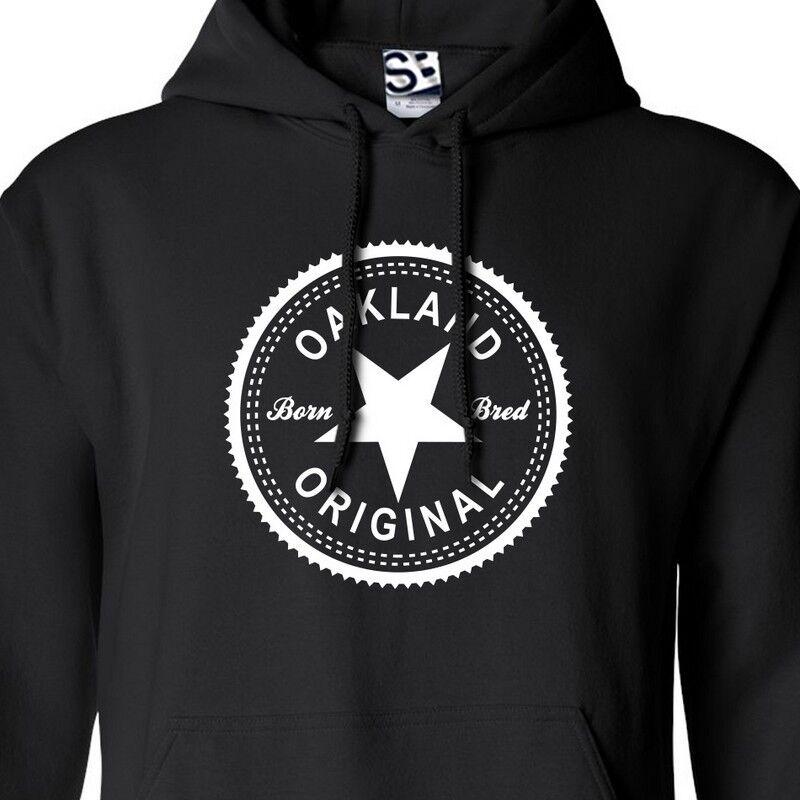 Oakland Original Inverse HOODIE - Hooded Born & BROT in NorCal NoCal Sweatshirt