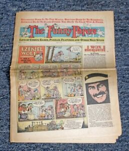 APRIL-1975-034-THE-FUNNY-PAPERS-034-COMICS-GAMES-amp-PUZZLES-EZEKIEL-WOLF-COCO-CROW