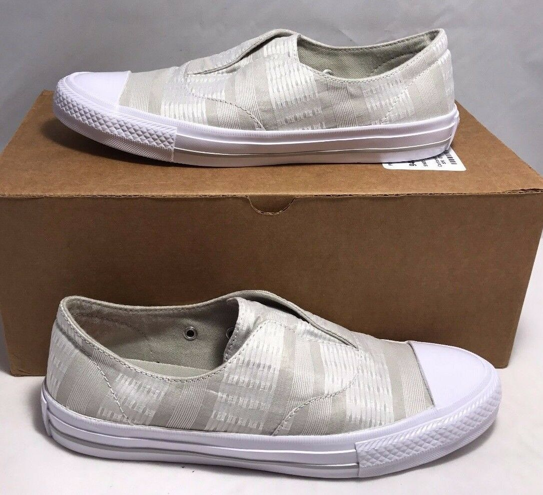 Converse Womens Size 6 Chuck Taylor All Stars Gemma Slip On shoes Tan White