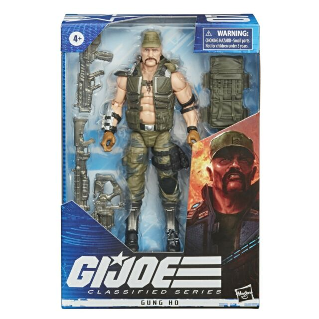 "Hasbro GI Joe Classified Series 07 GUNG HO Wave 2 6"" Figure SHIPS 11/13"