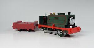 Thomas & Friends Trackmaster Motorized SAMSON Train Tank Engine W/ Flatbed Car