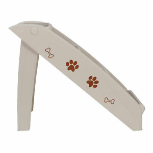 Foldable-Light-Weight-Pet-Stairs-Dog-Cat-up-to-100-Pounds-4-Steps-W-Rubber-Feet