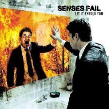 SENSES FAIL Let It Enfold You CD 2004 Vagrant Records Tokyo Rose Midtown indie