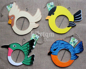 Bird-Shaped-Feeder-Apple-Fat-Ball-Garden-Wildlife-Birds-Care-Wood-Animals