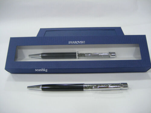 Swarovski Black Diamond Crystalline Ballpoint Pen Gift Box MIB 11725685001940