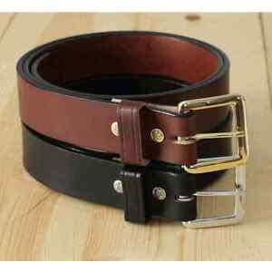 1 5 quot american bridle leather belt men s belt handmade