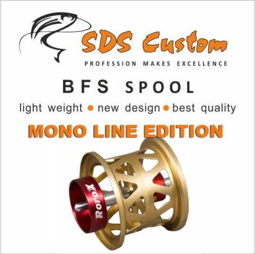 MEGABASS BFS SPOOL//STEEZ,SS SV,TD-Z,T3// MONO LINE Edition FOR DAIWA
