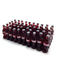 LOT 50 BOTTLES COCA COLA COKE COLLECTIVE DECORATE DOLLHOUSE MINIATURE