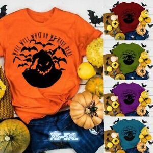 Impresion-de-Halloween-para-Mujer-Camisa-Oogie-Boogie-Pesadilla-antes-de-Navidad-Camiseta-Prendas