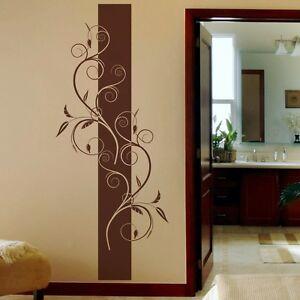 Wandtattoo blumen ranke floral wohnzimmer schlafzimmer for Wohnzimmer blumen