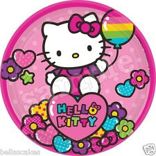 Eßbarer Tortenaufleger Hello Kitty backen Tortenbild DVD Kuchen Zug