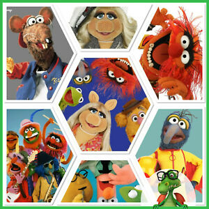 Disney-Collect-Topps-Digital-Vintage-Muppets-Series-2-w-award-rare-GDL