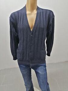 Cardigan-PAUL-amp-SHARK-Uomo-Taglia-Size-L-Sweater-Man-Pull-Homme-Maglia-Lana-7478
