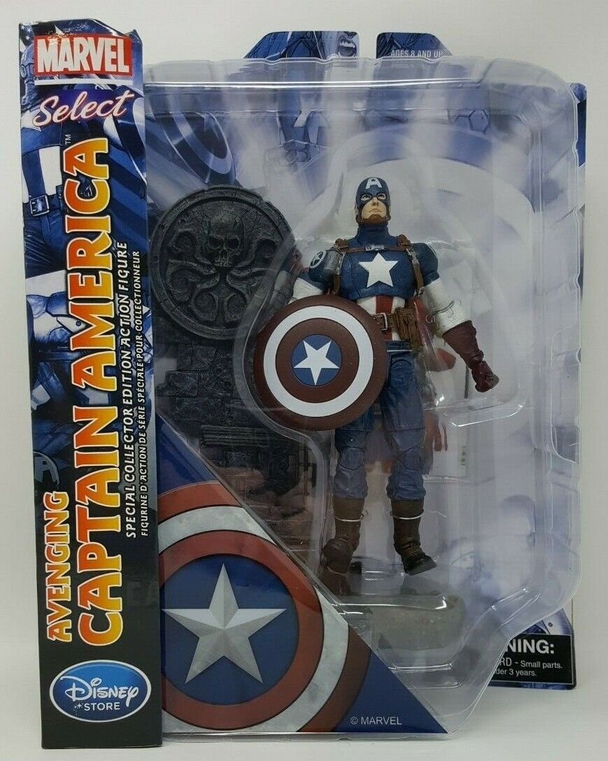Marvel Select specialee Collector edizione 7 Avenging Captain America cifra