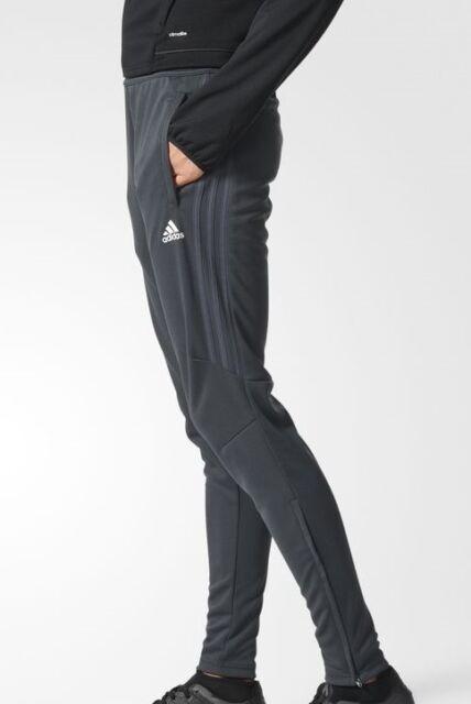 c3524ca7a NEW Adidas Tiro 17 Women's Training Pants Climacool Soccer Dark Grey / White