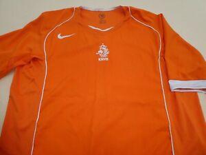 NETHERLANDS HOLLAND EURO 2004 NIKE FOOTBALL SOCCER SHIRT JERSEY TOP XXLARGE
