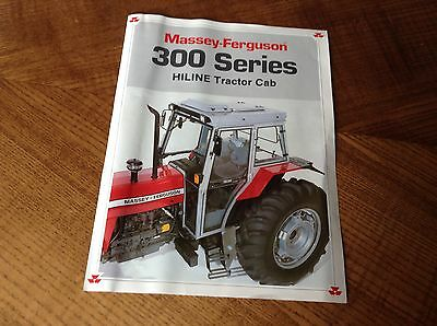 Other Tractor Publications Business, Office & Industrial Selfless Mf 300 Series Hi Line Tractor Cab Sales Book