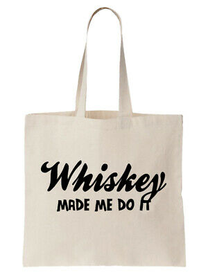 Vodka Tote Shoulder Bag Shopping Shopper Birthday Gift Funny Drink Bar Alcohol