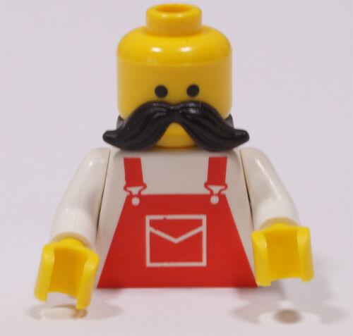LEGO Moustache 15439 NEUWARE 4 x Schnurrbart schwarz für Figuren Bart
