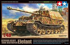 1:48 TAMIYA KIT CARRO GERMAN HEAVY TANK DESTROYER ELEFANT ART 32589