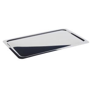 Aggressiv Gn 1/1 Edelstahl Tablett Serviertablett Servierplatte 53 X 32,5 X 1 Cm Schmal