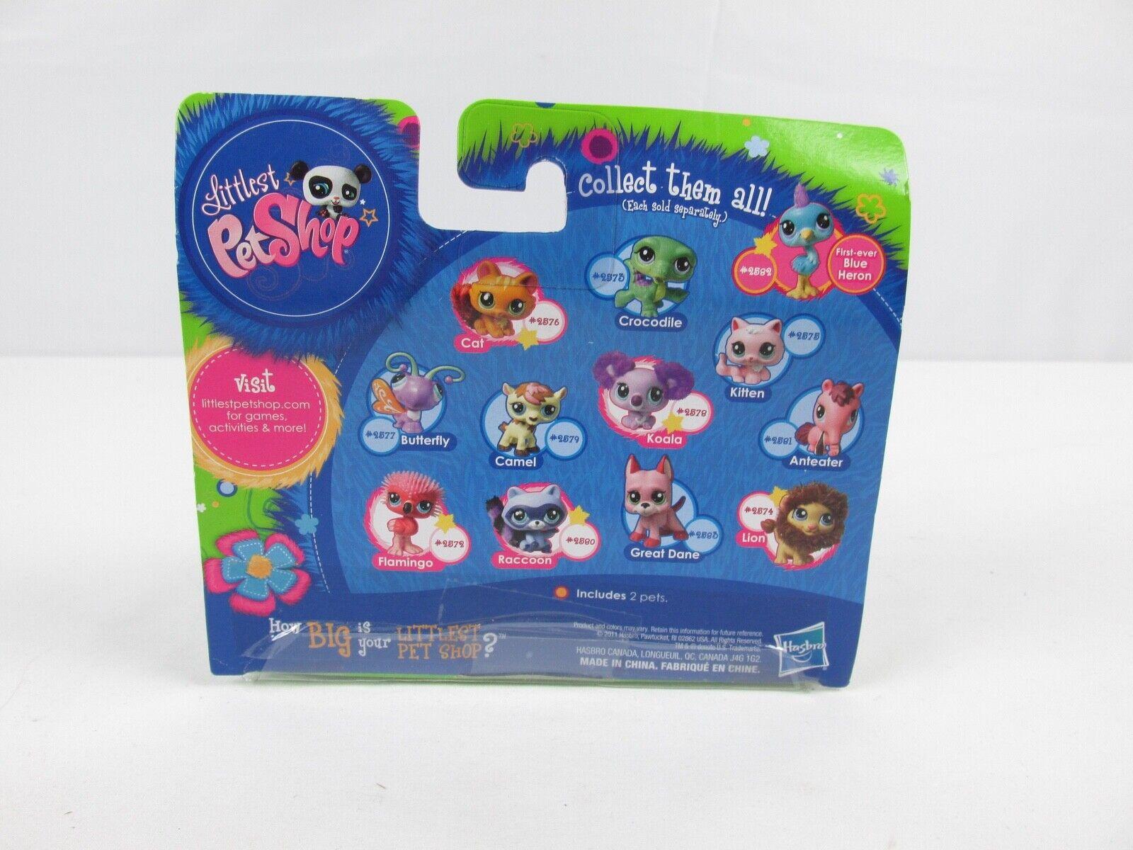 Littlest Pet Shop 2011 Lion & Kitten & LPS NIP NIP NIP NOS 26e655