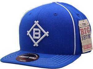 9499ed54aa3bb Image is loading Brooklyn-Dodgers-Snapback-Flat-Bill-Big-Show-1912-