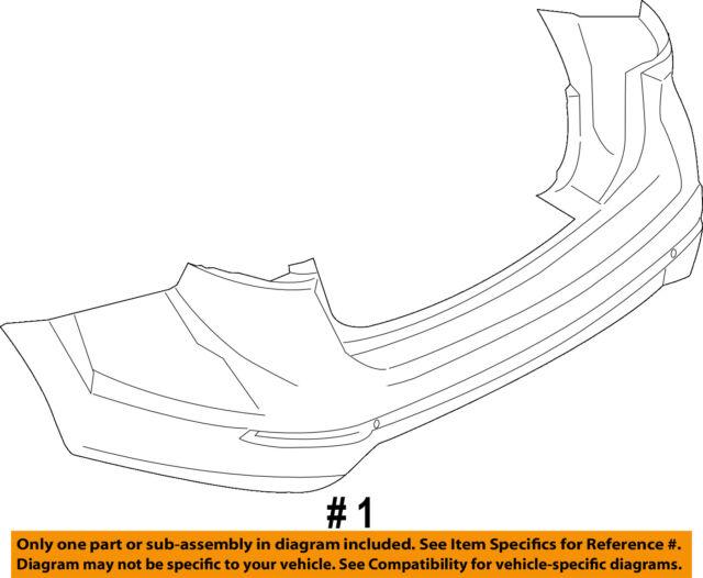 2008-2016 Ford Fiesta Rear Bumper Bracket Driver Side New