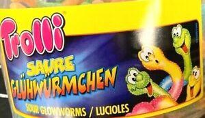 2x-1kg-Dosen-Trolli-Saure-Gluehwuermchen-Prickelt-und-erfrischt-Gummibaerchen-NEU