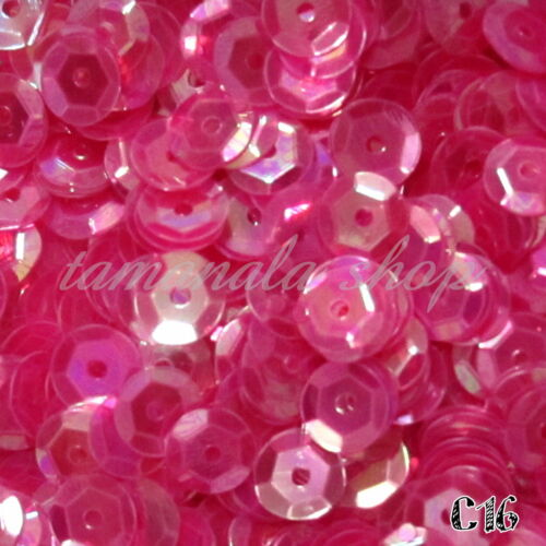 2000 PCS Shiny Round Loose 6mm Sequins Paillettes Craft Sewing Clothing Decor