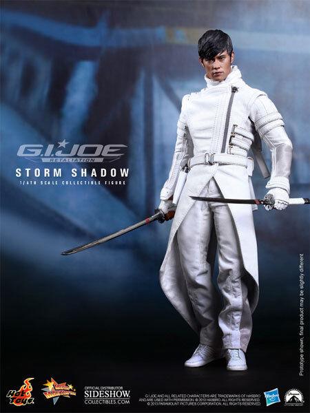 G.I.Joe Retaliation Byung-Hun Lee as Storm Storm Storm Shadow 1 6 Action Figure Hot Toys bf03df