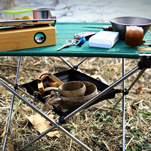 Netzablage für Camping Picknick Klapptisch Campingtisch zur Aufbewahrung