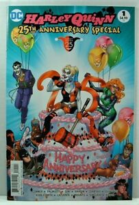 DC Comics: HARLEY QUINN 25th ANNIVERSARY SPECIAL VF/NM (2017) Conner Variant
