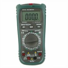 Mastech Ms8260d Digital Multimeter 4 12 Non Contact Current Frequency Detector