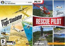 Microsoft Flight Simulator X Deluxe Edition & Rescue Pilot Mission Pack