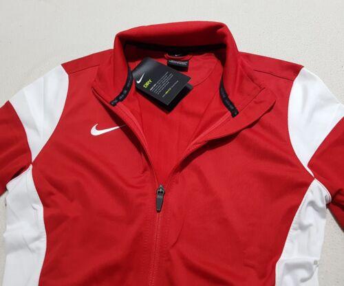 Nike Xs Soccer Red Full Dry da 48 Sideline Rrp Zip £ Top Canotta donna ZIvqT44
