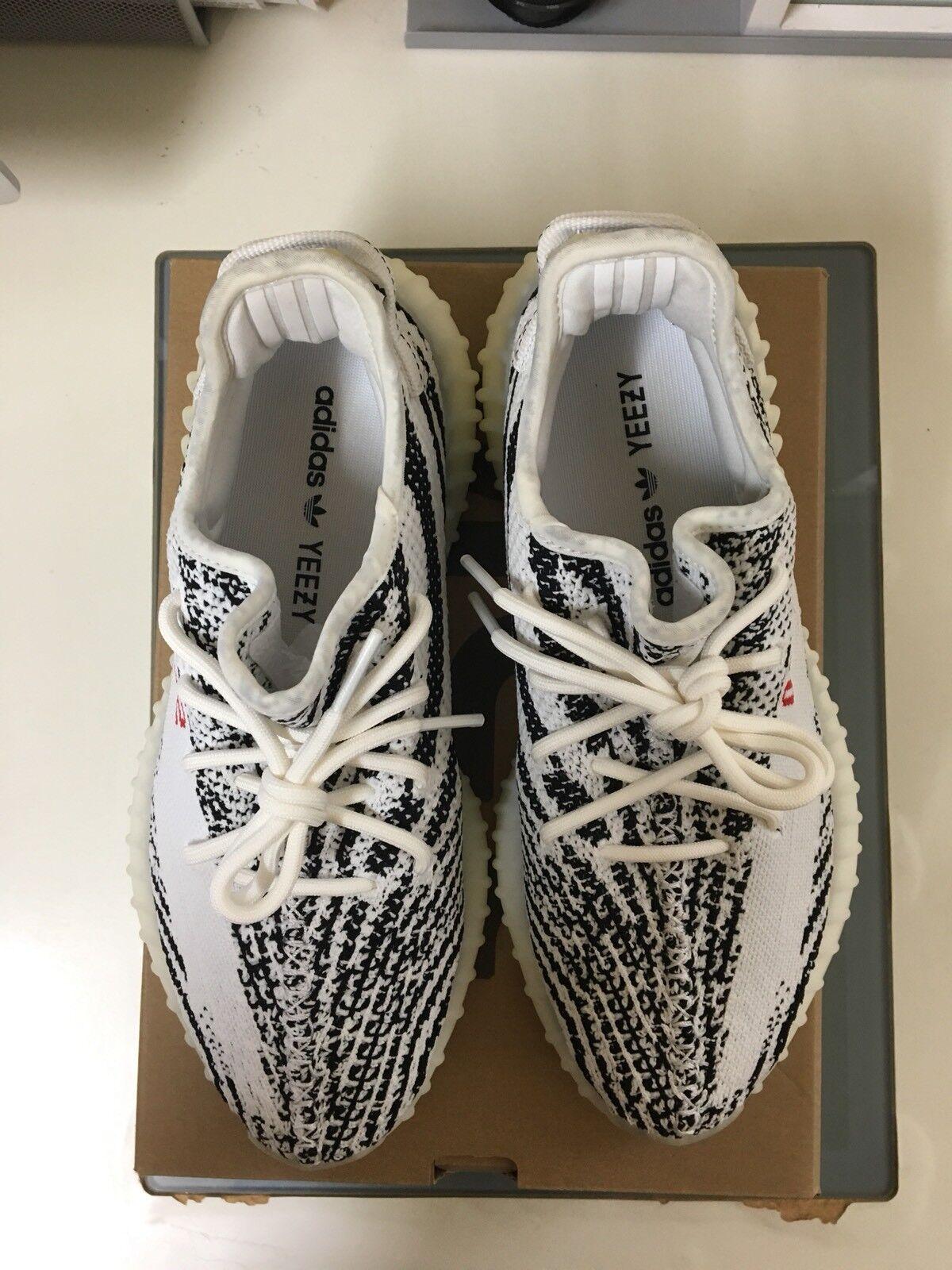 huge discount e18d4 d3127 ... Adidas yeezy impulso 350 v2 zebra 8,5 bianco grigio rosso misura 8,5