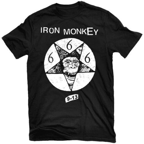 IRON MONKEY 9-13 T-Shirt NEW Relapse Records TS4516