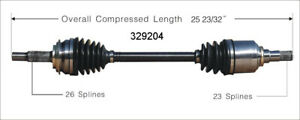 CV-Axle-Shaft-Front-Left-WorldParts-329204-fits-06-17-Toyota-Yaris