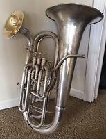 Vintage 1912 Holton Double Bell Euphonium