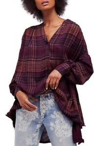 Details about NWT Free People come over Button Down blouse Retail $108