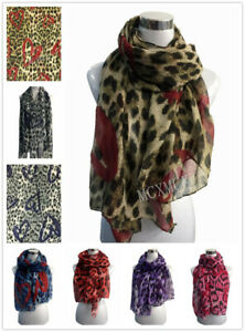 Women-Ladies-Inspired-Leopard-Print-Animal-Pattern-with-Heart-Scarf-Wrap