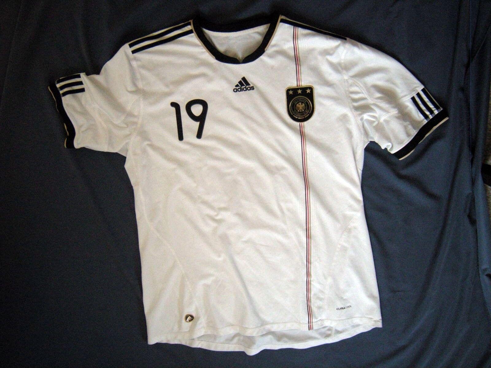 DFB-Trikot Deutschland WM 2010 2010 2010 - Nr. 19 Cacau Orig. signiert - Adidas 3XL 681b8b