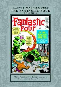 Marvel Masterworks Fantastic Four HC Hard Cover Vol 01 New Ptg