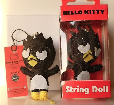 Hello Kitty Badtz Maru String Doll toy Figure Keychain Voodoo phone charm strap