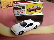 Alpine Renault A310 V6 Diapet Yonezawa Toys Mint in box so Dinky