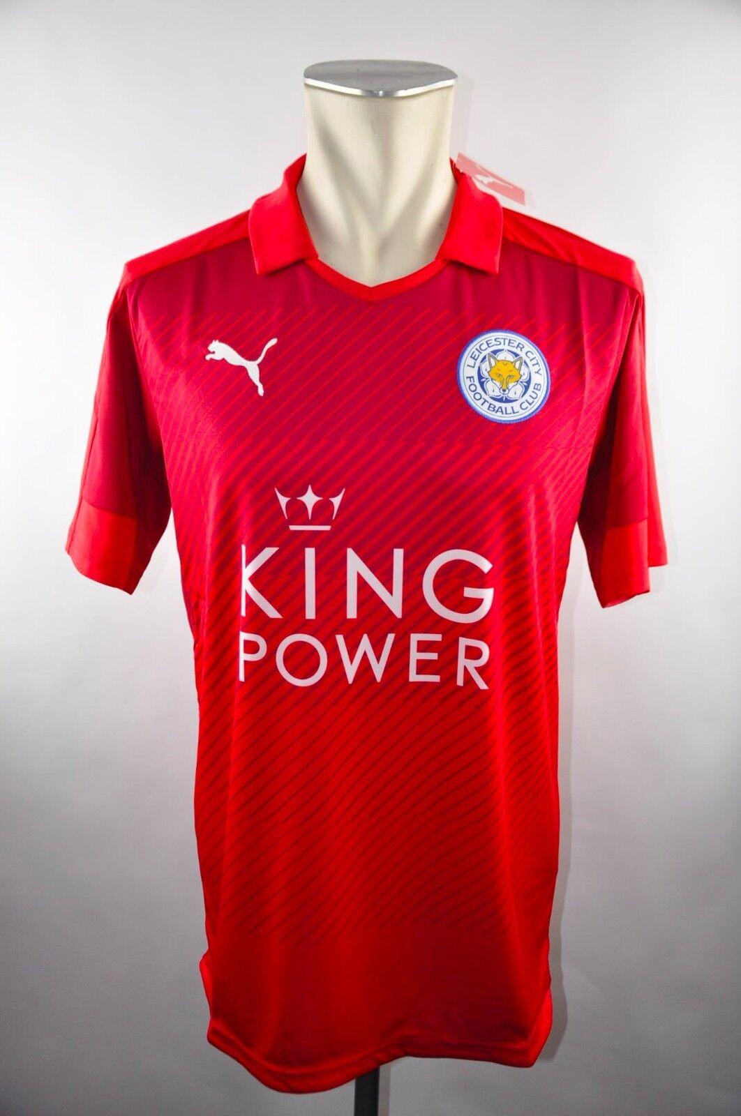 2016-2017 Leicester Leicester Leicester City Away Trikot Gr. M L XL NEU Jersey Puma King Power NEU 0ebe28